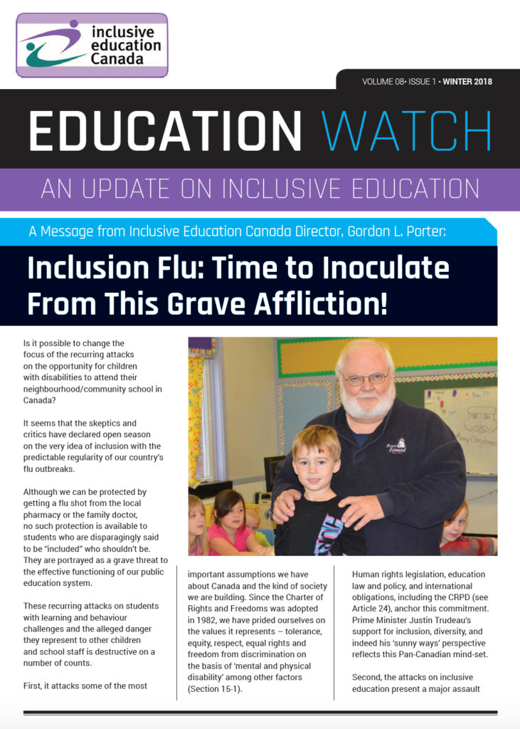 The Winter Edition of Education Watch is Now Online – Inclusive ...