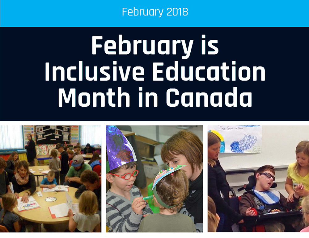 February is Inclusive Education Month