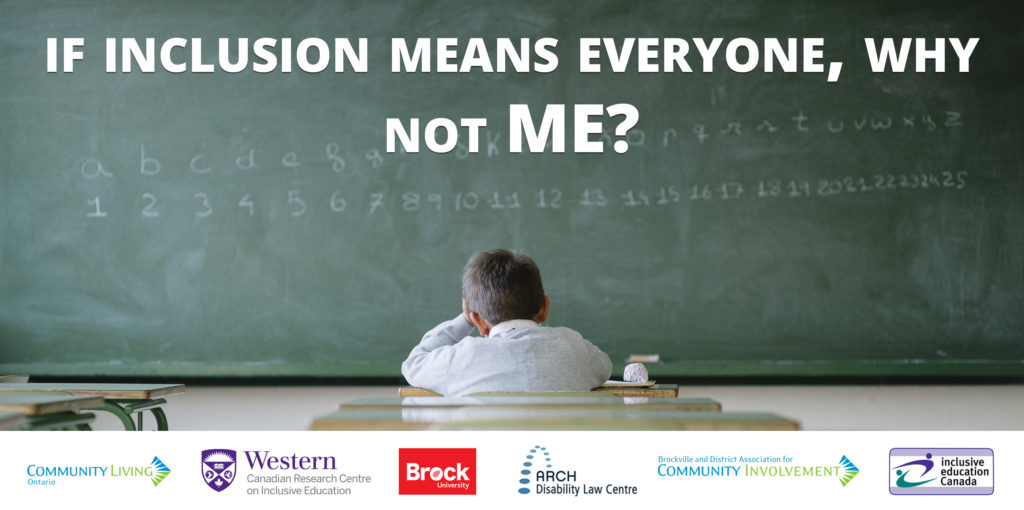 If inclusion includes everyone, why not me?